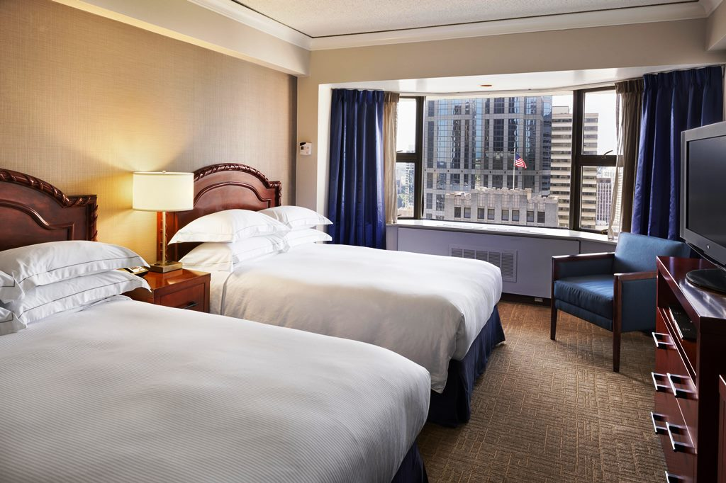 Downtown Seattle Hotels Guest Rooms The Hilton Seattle