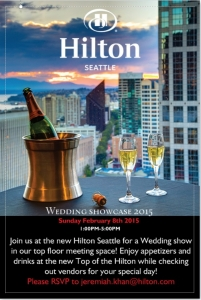 Seattle Wedding Show Flyer
